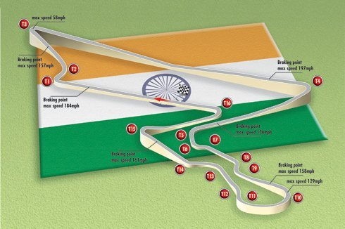 The promoters of India's initial 2011 Formula 1 GP are discussing the addition of a round of the Wor