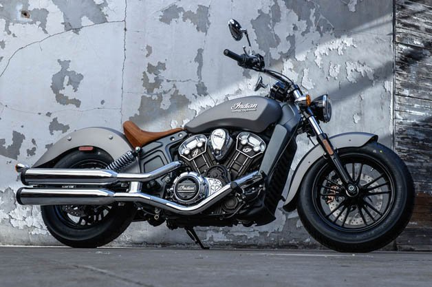 Indian Motorcycle Reveals All-New 2015 Scout