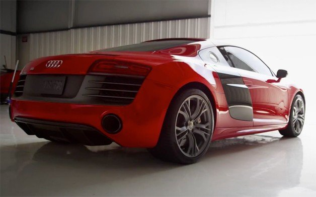 Iron Man Approves of the 2014 Audi R8