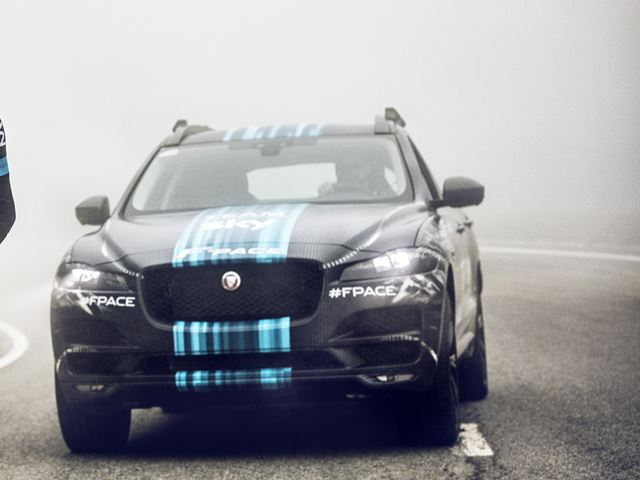 Jaguar Shows Off New SUV, and It's Chasing Cyclists