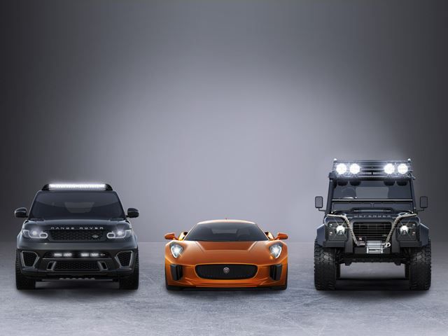 Jaguar C-X75 And Land Rovers Will Star Alongside Aston Martin DB-10 in Next James Bond Flick