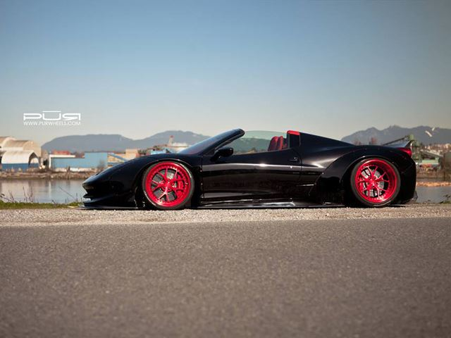 Liberty Walk Introduces Scandelous Widebody 458 Spider