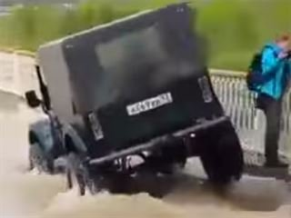 This is Why You Don't Drive a Jeep Through a Flood