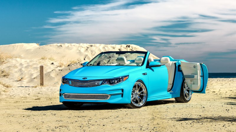Kia Previews Drop-Top Optima for SEMA