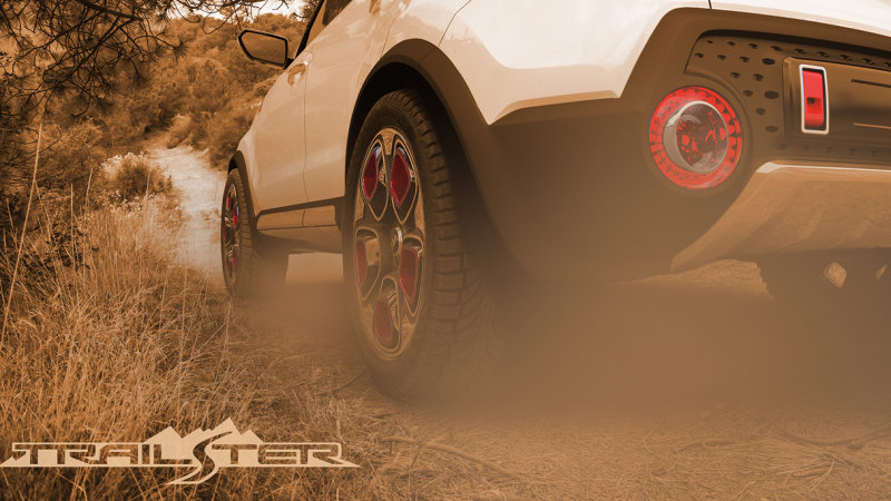 Kia Teases e-AWD Trail'ster Concept Ahead of Chicago