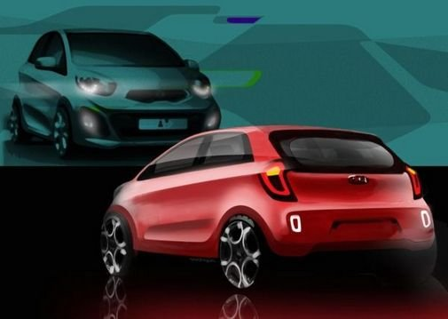 Kia shows more dynamic looking Picanto