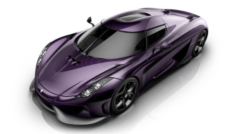 Koenigsegg Renders Purple Regera As A Tribute To Prince