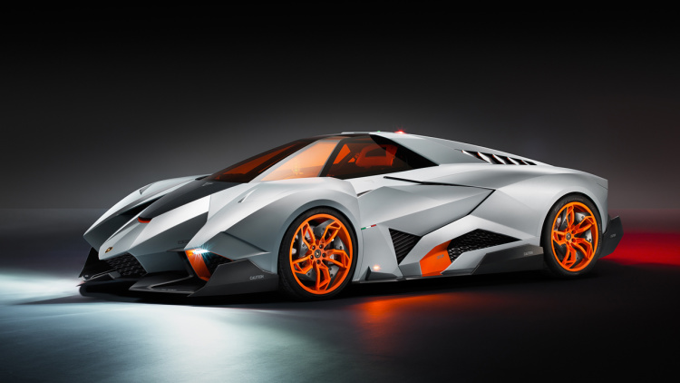 Lamborghini Files for Trademark on Egoista Name