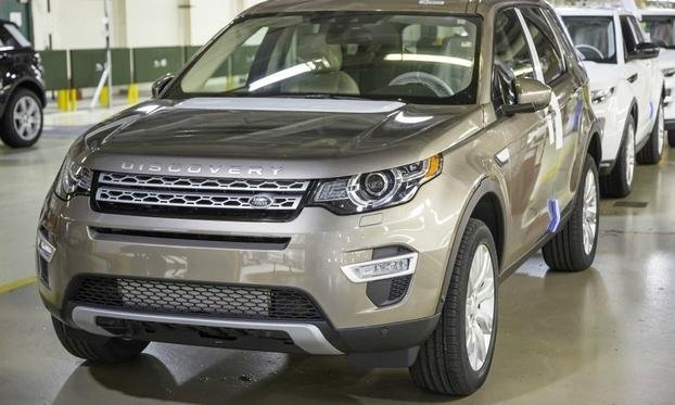 he Land Rover Discovery Sport, pictured, is currently being built at JLR's Halewood plant
