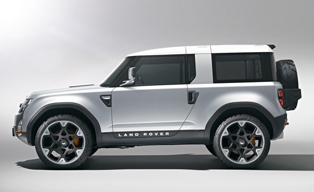 Land Rover previews new Defender with Frankfurt-bound DC100 concept