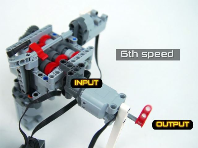 This Guy Made a Six-Speed Manual Transmission Out of Legos