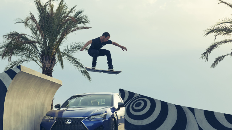 The Hoverboard of Your Dreams is Finally Here, Thanks to Lexus