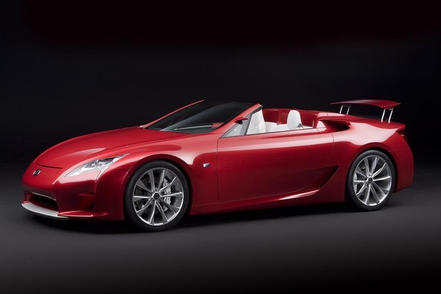Lexus planning LF-A Roadster for 2014; seven-seat CUV delayed