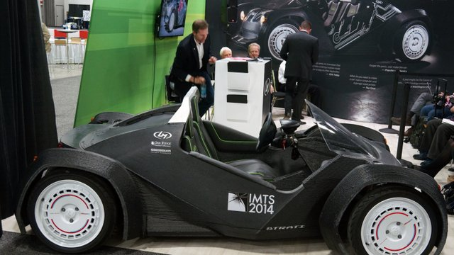 Local Motors Builds Strati, the World's First 3D-Printed Car, in Detroit