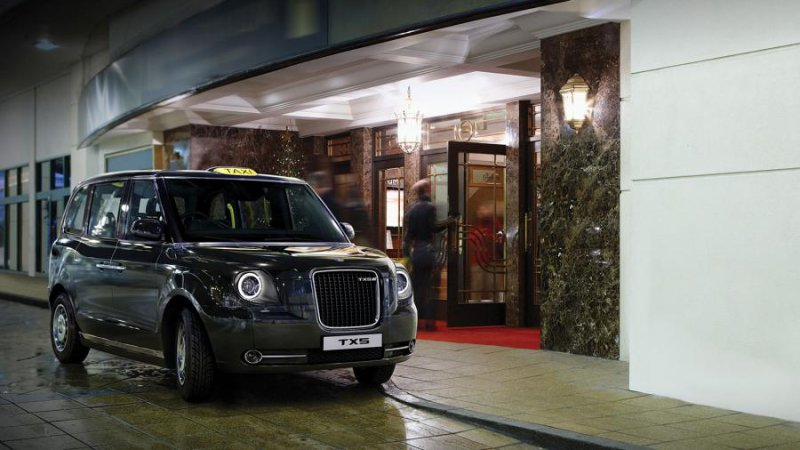 London's New Taxi TX5 Goes Electric