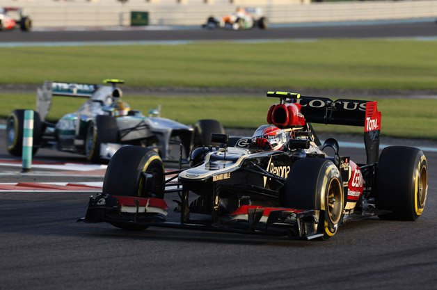Lotus Drops Renault for Mercedes F1 Engines