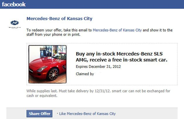 Missouri Mercedes Dealer Offering Free Smart with Every SLS AMG Purchase