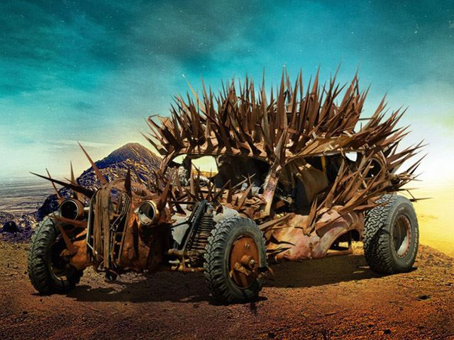 Here's a First Look at the Insane Rides From the New Mad Max Movie