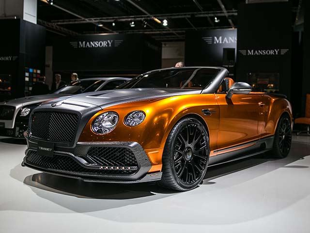 5 Crazy Cars to Come From the Mansory Nuthouse