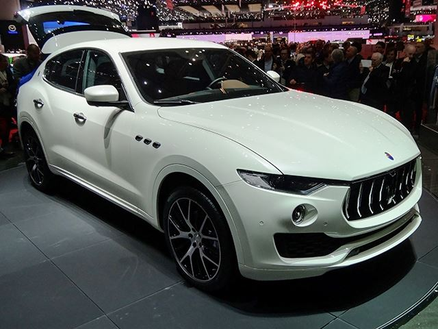 Maserati Takes The Fight To The Germans In Geneva With The Levante SUV