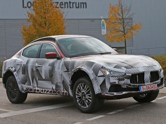 Maserati Levante Luxury SUV Spied Testing in Germany Ahead of 2015 Reveal