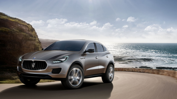 Maserati Betting Big on Levante SUV