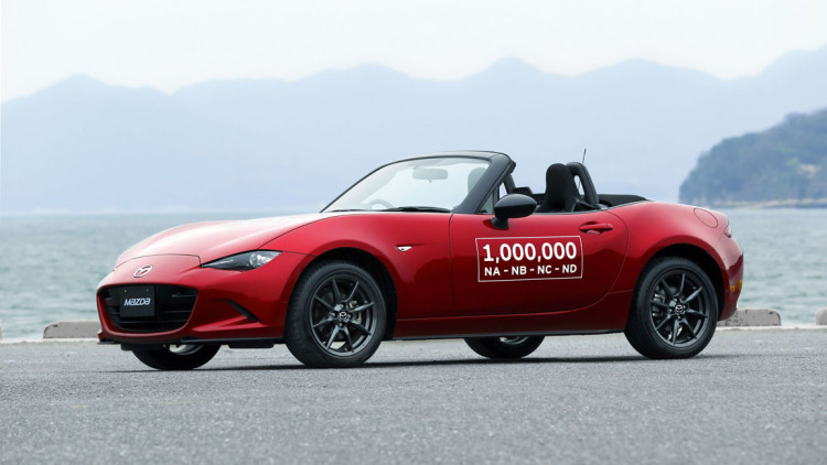 Mazda Builds 1 Millionth MX-5