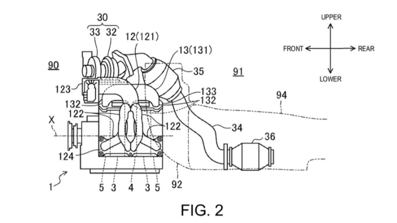 Patent Application Suggests Mazda Rotary Return