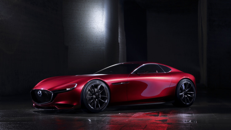 Mazda RX-Vision Concept Revives the Rotary
