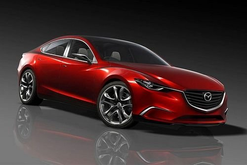 Mazda's Takeri concept foreshadows next Mazda6