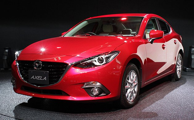 Mazda3 Skyactiv-Hybrid and CNG Concept Shown in Japan