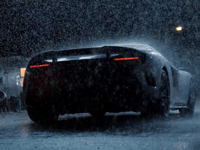This McLaren 675LT in the Rain is the Greatest Car Advertisement of all Time