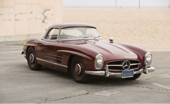 Auction Report: The Most Expensive Car In The World, A 300SL With Hollywood Provenance X2 & A Grosser Pullman Offered For Sale