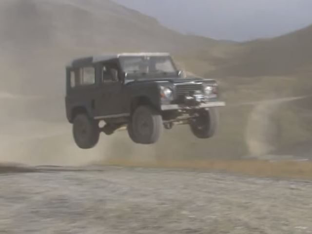 Not Even Mercedes Knew The G-Class Could Jump This High and Survive