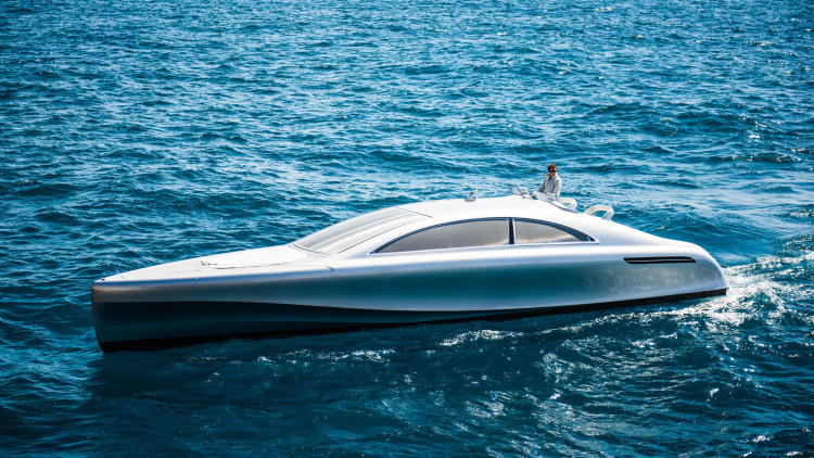 Mercedes-Designed Silver Arrow Motor Yacht Hits The Open Sea