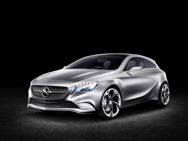 Mercedes-Benz Concept A-Class hatches ahead of New York and Shanghai