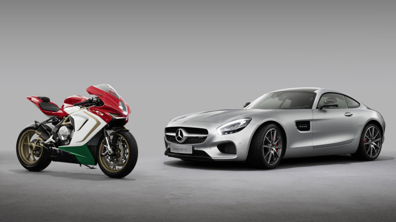 Mercedes-Benz Will Sell MV Agusta Sportbikes