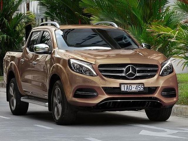 This Is Not a Joke: Mercedes-Benz Developing Its Own Pickup