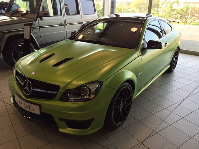South Africa Is Now Home to the Rarest And Beastliest C63 AMG Ever Made
