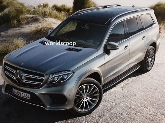 All-New Mercedes-Benz SUV Leaked Ahead of LA