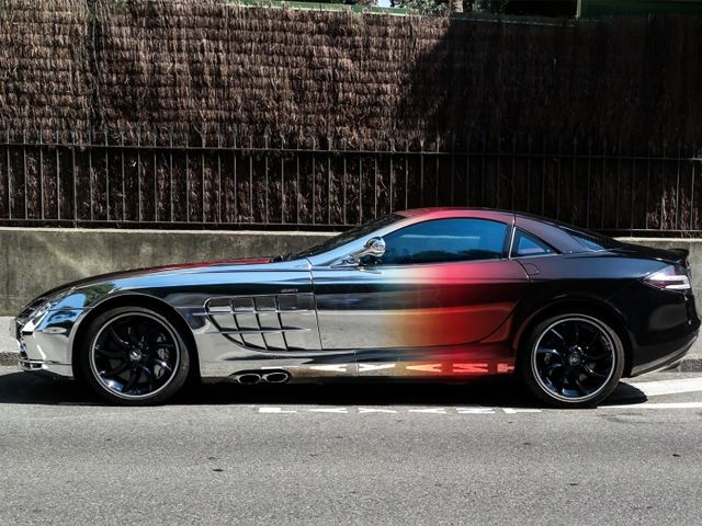 This Chrome SLR Looks Amazing Until You Take a Closer Look