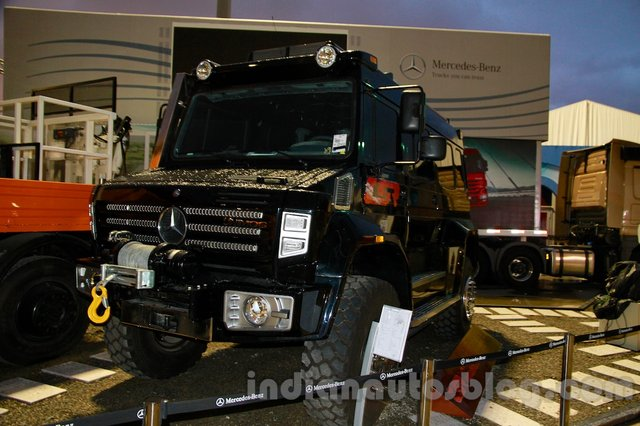Mercedes-Benz showcases New Generation Unimog and Econic Trucks