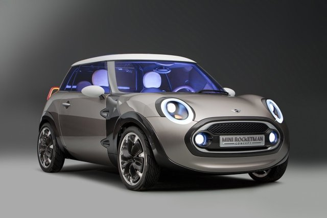 Mini Rocketman concept is presented at 2011 Geneva Auto Show