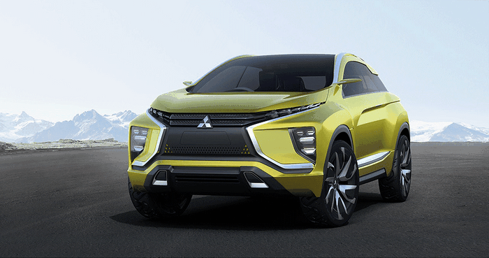 Mitsubishi's EV Crossover Concept Shows Off New Design Language