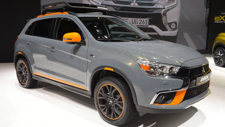Mitsubishi Geoseek Concepts Sport New Paint, Not Much Else