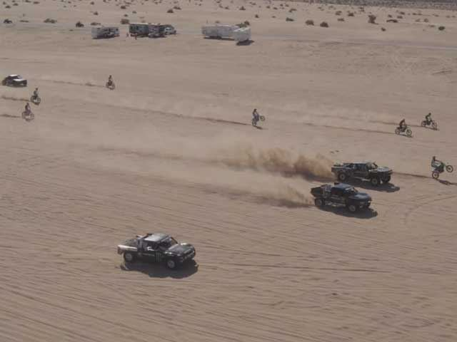 Monster Energy's Dirt Shark Video Brings Us The Very Best Of Going Fast Over Sand Dunes