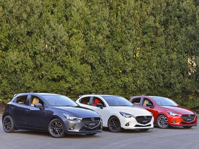 Mazda Introduces Seven Tuned Models Created for 2015 Tokyo Auto Salon
