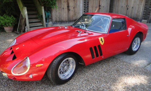 New Zealander Builds 1962 Ferrari GTO Replica in Chicken Shed