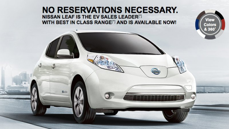 Nissan's New Leaf Ad Makes Fun Of Tesla Model 3 Success