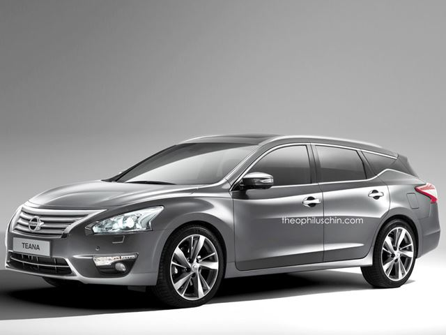 Nissan Altima Wagon Could Be the Sleek Wagon We've Always Dreamed of